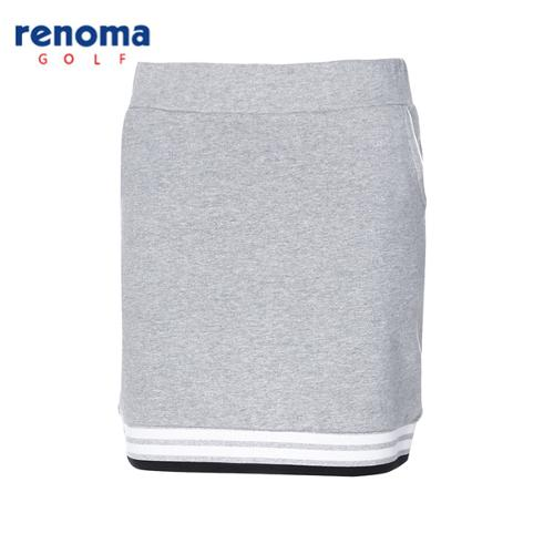 [레노마골프]여성 라인 배색 면 큐롯 스커트 RWTRG5117-193