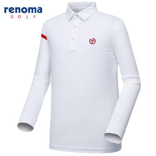 [레노마골프]남성 라이닝 포인트 카라 티셔츠 RMTYG1110-100