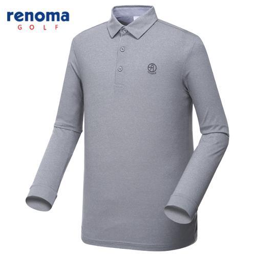 [레노마골프]남성 솔리드 베이직 카라 티셔츠 RMTYG1104-193