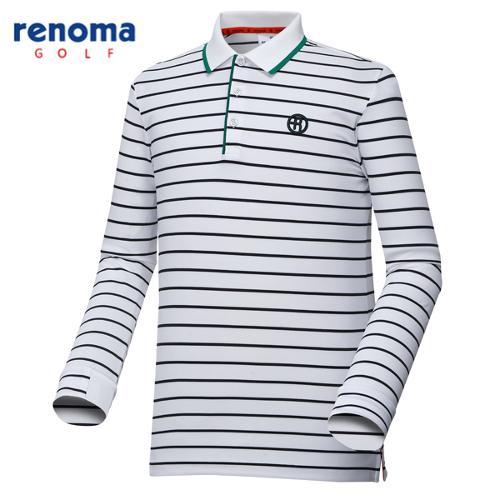 [레노마골프]남성 로고 라인 폴로 티셔츠 RMTPG1106-100
