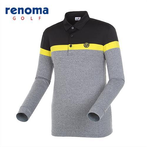 [레노마골프]남성 스트라이프 카라 티셔츠 RMTYG1108-199