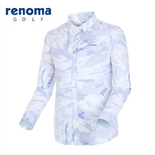 [레노마골프]남성 초경량 써커 프린트 셔츠 RMBSG1602-110