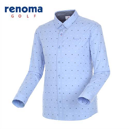 [레노마골프]남성 베이직 자수 코튼 셔츠 RMBSG1601-920