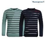[먼싱웨어] [20SS]먼싱 남성 라운드 패턴 스웨터 (M0121MSW31)