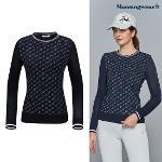 [먼싱웨어] [20SS]먼싱 여성 로고 펀칭 스웨터 (M0122LSW33)