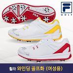 [휠라/FILA 골프] 와인딩 스파이크 여성 골프화