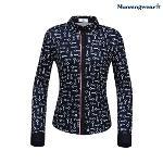 [먼싱웨어] [공식돌 단독]먼싱 여성 패턴 셔츠 긴팔티셔츠 (M0122LTL21)