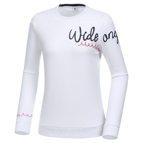 [와이드앵글] 여성 포인트 로고플레이 미들레이어 L WWP20234W2