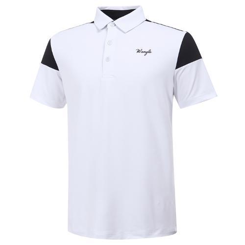 [와이드앵글] 남성 ONEX 배색형 반팔 티셔츠 M WMM20291W2
