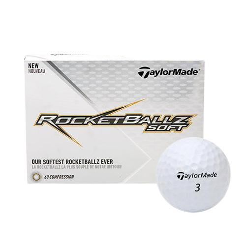 [테일러메이드] 2019 로켓볼즈 소프트 골프공 (2피스 / 12구)