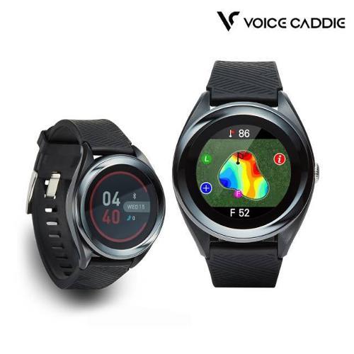 [테일러메이드골프공증정][보이스캐디 정품] 2020년신제품 T7 시계형 골프 거리측정기 최초AI(인공지능)탑재