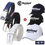 1+1 [클리브랜드골프] 자동조절/플렉서블 골프벨트 + 골프모자/골프용품_CG249510