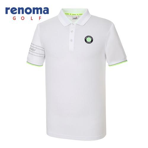 [레노마골프]남성 캐주얼 솔리드 카라 티셔츠 RMTPG2115-100