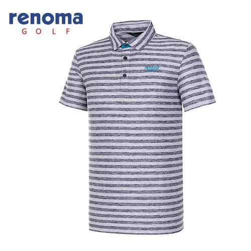 [레노마골프]남성 블록 스트라이프 티셔츠 RATS41631-NY