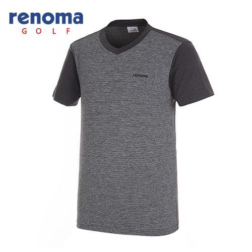 [레노마골프]남성 쿨 브이넥 반팔 티셔츠 RMTRG2136-193