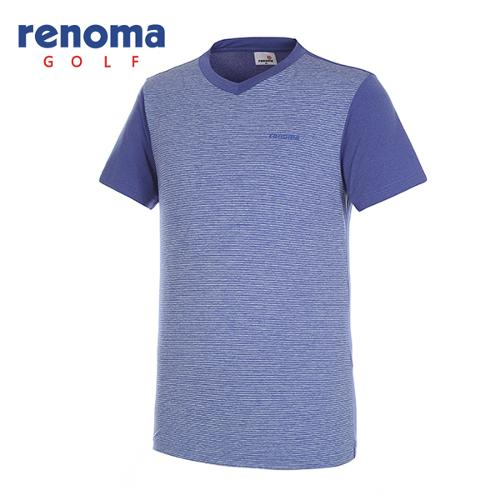 [레노마골프]남성 쿨 브이넥 반팔 티셔츠 RMTRG2136-110