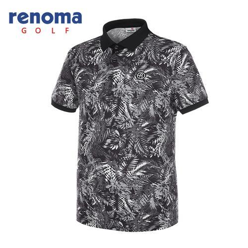 [레노마골프]남성 트로피컬 반팔 티셔츠 RMTPG2134-199