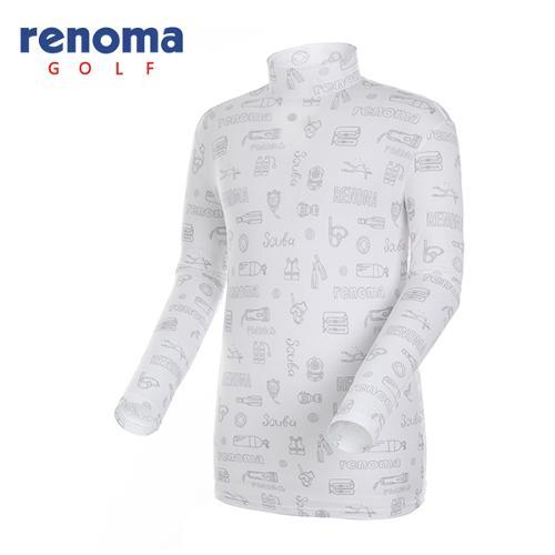 [레노마골프]남성 카툰 이너웨어 티셔츠 RMTHG2119-100