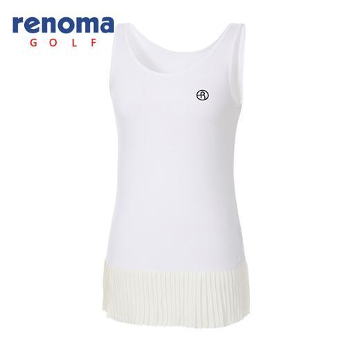 [레노마골프]여성 플리츠 민소매 티셔츠 RWTSG6147-100