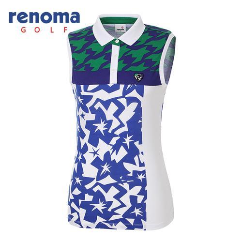 [레노마골프]여성 캐주얼 민소매 티셔츠 RWTSG6116-100