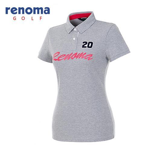 [레노마골프]여성 레터링 로고 티셔츠 RATS78631-MG