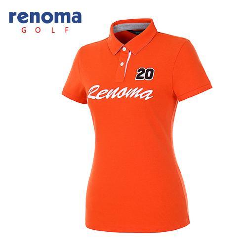[레노마골프]여성 레터링 로고 티셔츠 RATS78631-DO