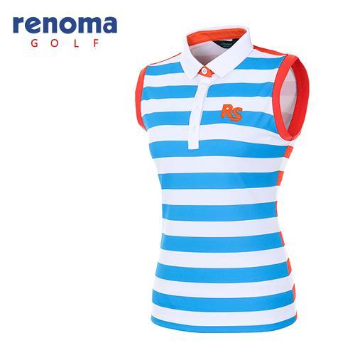 [레노마골프]여성 볼드 슬리브리스 티셔츠 RATS7C631-DB
