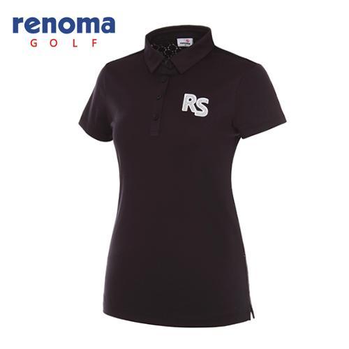 [레노마골프]여성 레이스 믹스 반팔 티셔츠 RWTYG6193-199