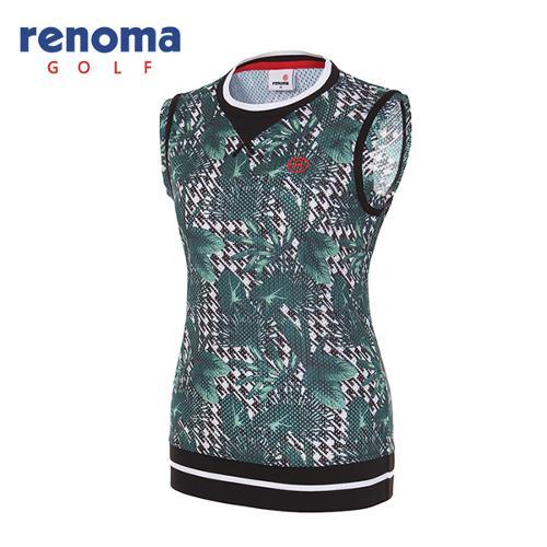 [레노마골프]여성 트로피컬 베스트 티셔츠 RWTSG6138-131