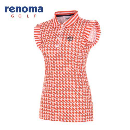 [레노마골프]여성 하운즈투스 민소매 티셔츠 RWTSG6137-301