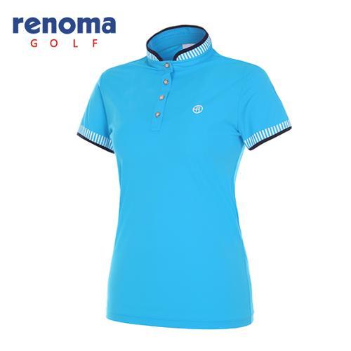[레노마골프]여성 스탠드업 반소매 티셔츠 RWTSG6136-906