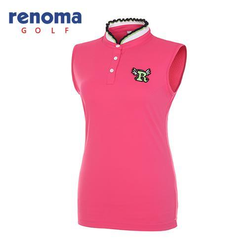 [레노마골프]여성 프릴 카라 민소매 티셔츠 RWTSG6118-403