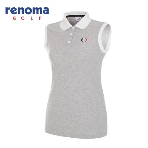 [레노마골프]여성 스타일 배색 민소매 티셔츠 RWTSG6109-193