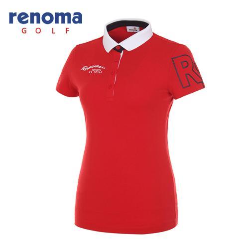 [레노마골프]여성 심플 카라 반팔 티셔츠 RWTPG6191-500