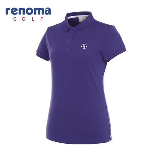 [레노마골프]여성 로고 카라 반팔 티셔츠 RWTPG6101-607