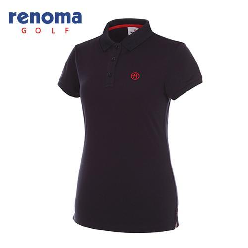 [레노마골프]여성 로고 카라 반팔 티셔츠 RWTPG6101-120