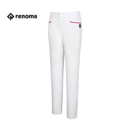 [레노마골프] 여성 포켓 배색 포인트 바지 RAPT71631-WH