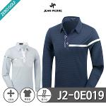[JEAN PIERRE] 쟌피엘 어깨 라인 포인트 카라티셔츠 Model No_J2-0E019