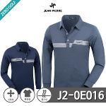 [JEAN PIERRE] 쟌피엘 로고 라인 프린팅 카라티셔츠 Model No_J2-0E016