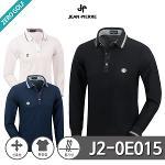 [JEAN PIERRE] 쟌피엘 남성 로고 포인트 카라티셔츠 Model No_J2-0E015
