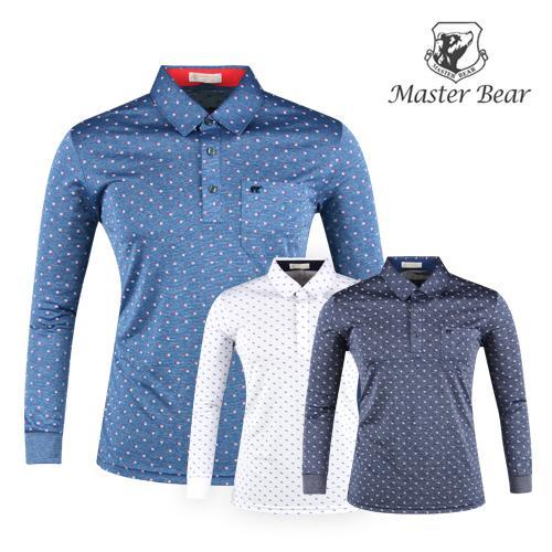 마스터베어 사각패턴 골프셔츠 AE20S404