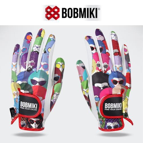 밥미키 BOBMIKI 여성 반양피 골프장갑 (BM-903WGL)