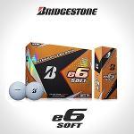 브리지스톤 E6 SOFT 골프볼 골프공 3피스 12알