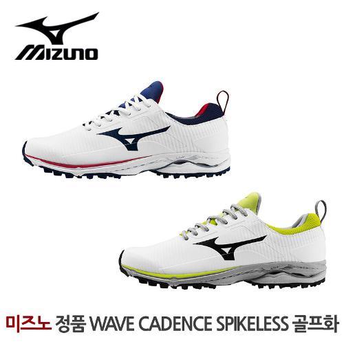 미즈노 정품 2020 WAVE CADENCE SPIKELESS 스파이크리스 남성 골프화