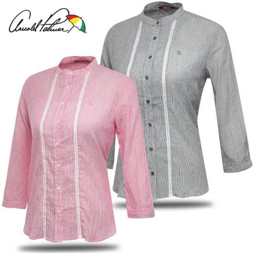[아놀드파마] 레이스테이프 여성 차이나카라 7부 셔츠/골프웨어_249622