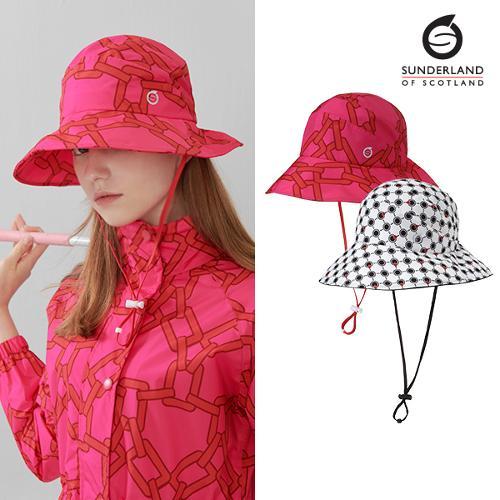 선덜랜드 여성 와이어 방수 벙거지 모자 - 16012CP24