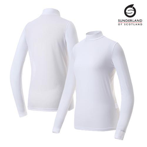 선덜랜드 여성 국내생산 메쉬 냉감티셔츠 - 16022IW22