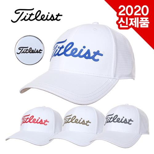[2020년신제품]타이틀리스트 PERFORMANCE BALL MARKER WHITE COLLECTION CAP 볼마커 캡모자[TH20APBMWK/TH9APBMK]
