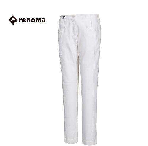 [레노마골프] 여성 단추 장식 절개 라인 팬츠 RAPT57611-OW