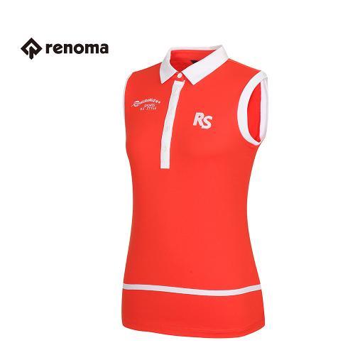 [레노마골프] 여성 배색 카라 민소매 티셔츠 RATS7B631-DO